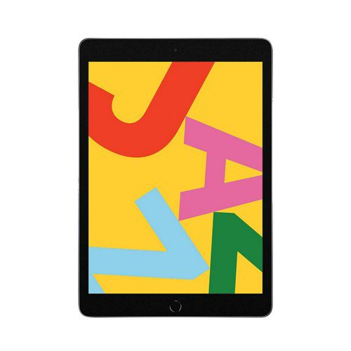 Image for Apple iPad 10.2inch Wi-Fi Cellular 32GB 8MP Camera Touch ID Space Grey
