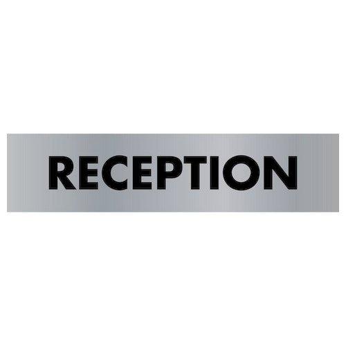 Reception Door Sign 45X190mm