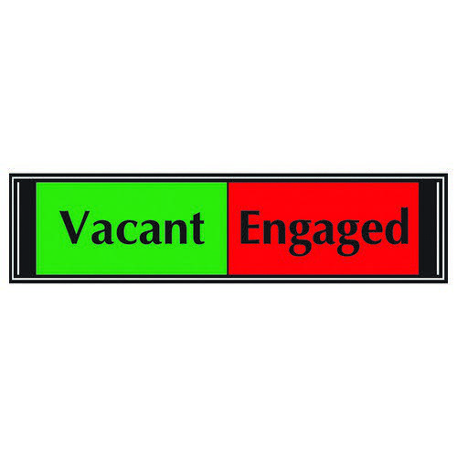 Vacant/Engaged Slider Sign
