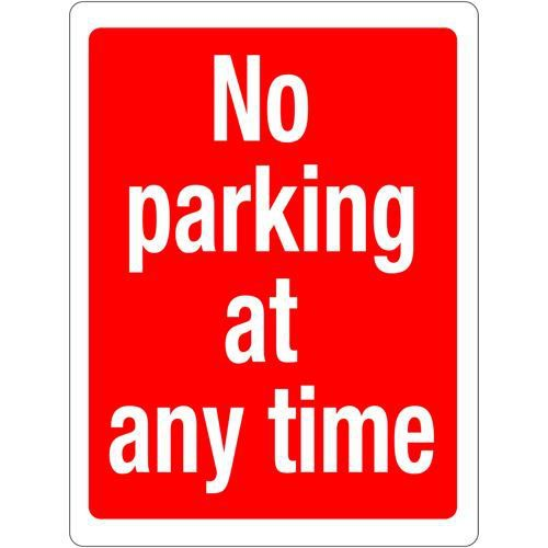 No Parking At Any Time 400x300