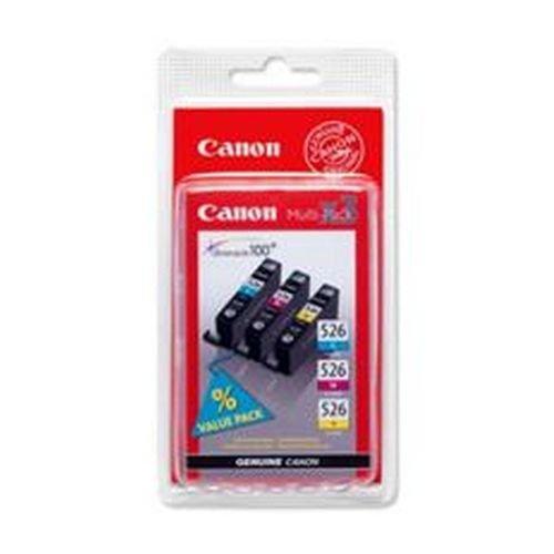 Canon 4541B006AA CLI526CMY Ink Cartridge Cyan Magenta Yellow