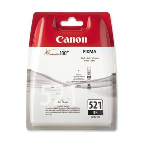 Canon 2933B001 CLI521 Black Ink