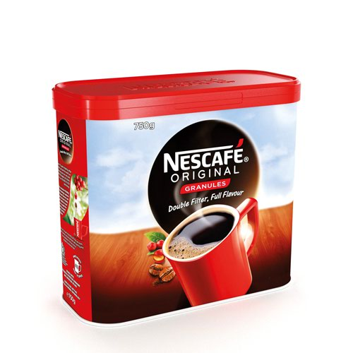 Nescafe Orig 750g 2pk Foc Qstreet