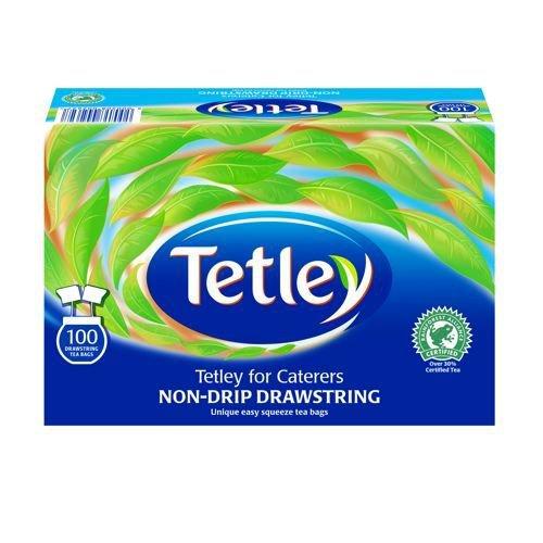 Tetley Drawstring Tea Bags Non-drip Box 100