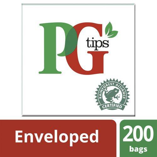 PG Tips Envelope Tea Bags Pack 200
