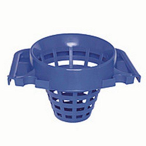 2Work Plastic Mop Bucket with Wringer 15 Litre Blue 102946BU