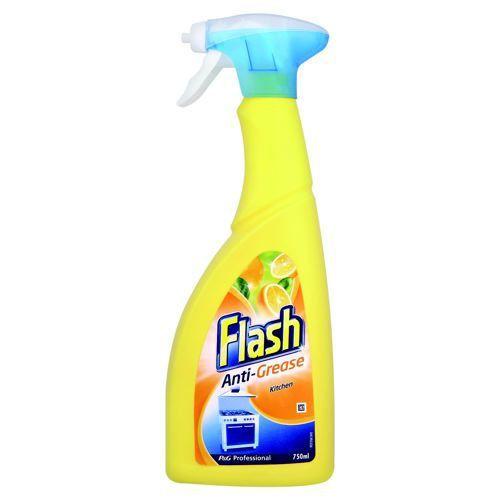Flash Antibacterial Degreaser Spray 750ml