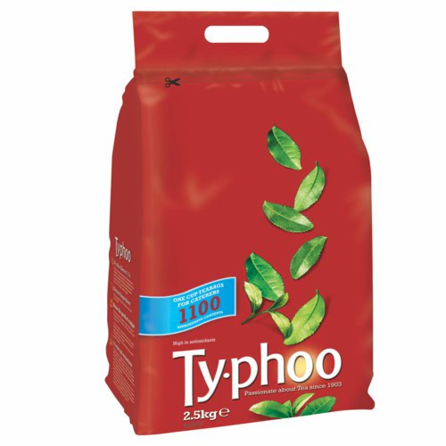 Typhoo Tea Bags Vacuum-packed 1 Cup Pack 1100