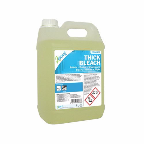 Thick Bleach Ready To Use 5 Litre