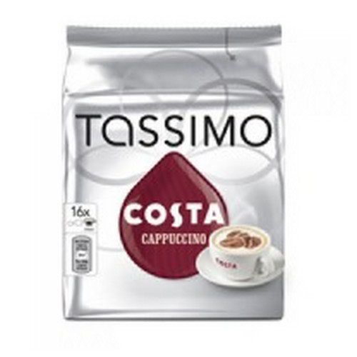 Tassimo Costa Cappuccino Coffee 8 x 280g Capsules Pack 5