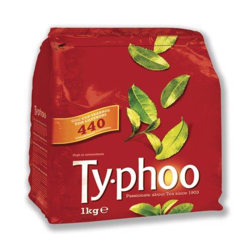 Typhoo Tea Bags Vacuum-packed 1 Cup Pack 440