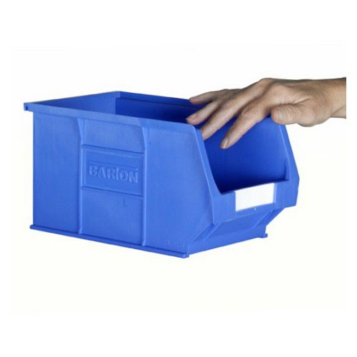 TC3 Blue Containers L240xW150xH132mm Pack 20