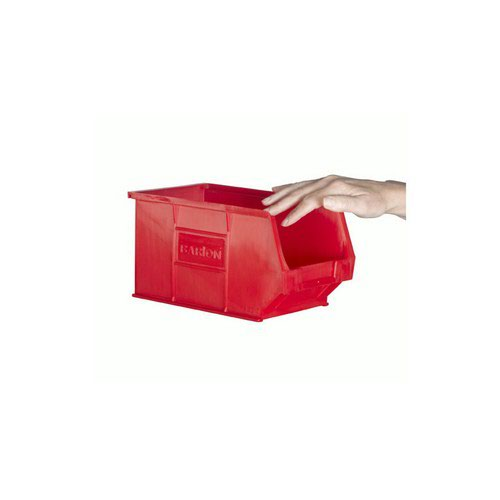 TC3 Red Containers L240xW150xH132mm Pack 20