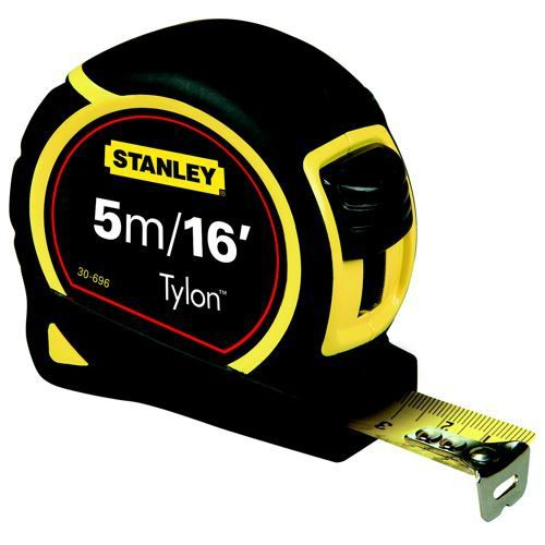 Stanley Tape Measure Pocket 5m/16 Feet Tylon