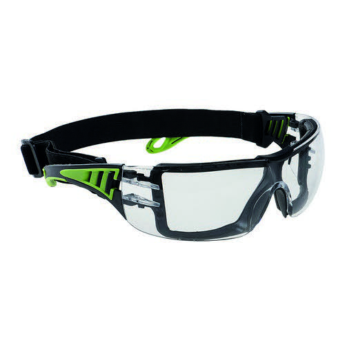 Portwest Tech Look Plus Safety Glasses Clear