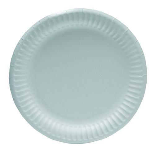 Plates Paper 9 Inches White Pack 100