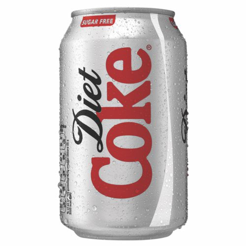 Diet Coca Cola Cans 330ml Pack 24