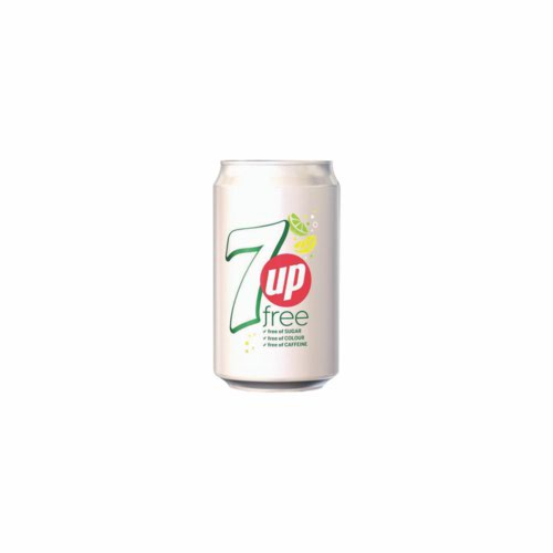 7UP Diet Cans 330ml Pack 24