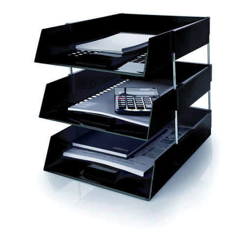 Initiative Letter Tray Black
