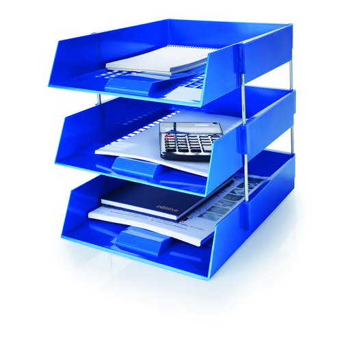 Initiative Letter Tray Blue