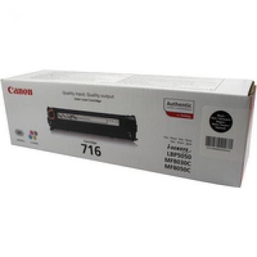 Canon 1980B002AA 716BK 2.3K Black Toner