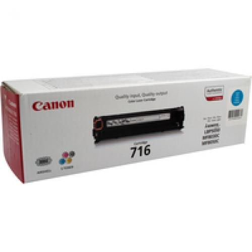 Canon 1979B002AA 716C 2K Cyan Toner