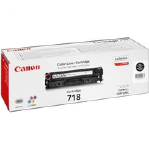 Canon 2662B005AA 718 2 Pack Black Toner