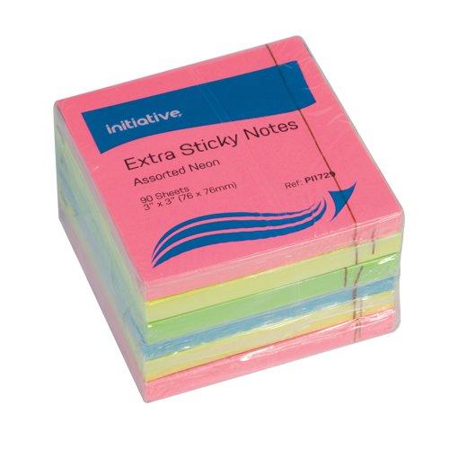 Initiative Extra Sticky Notes Astd 76x76