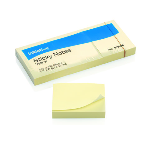 Initiative Sticky Notes 38 x51mm 1.5