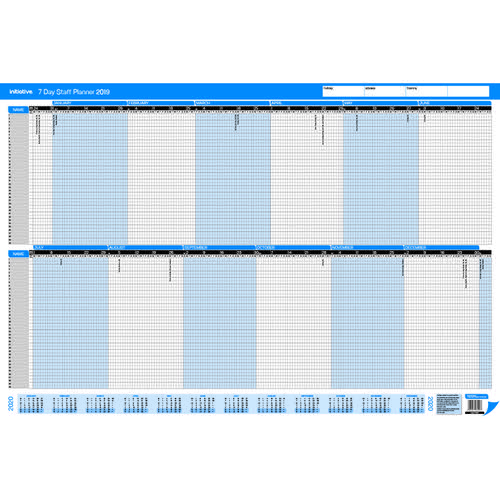 Initiative 2019 7 Day Staff Planner Unmt