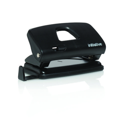 Initiative 2 Hole Punch Compact Black