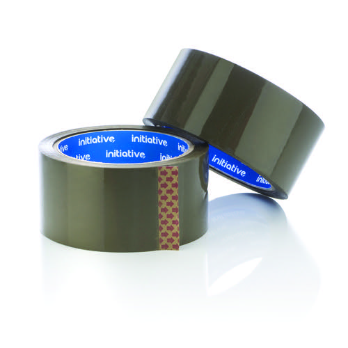Initiative Polypropylene Packaging Tape 48mmx66m Buff