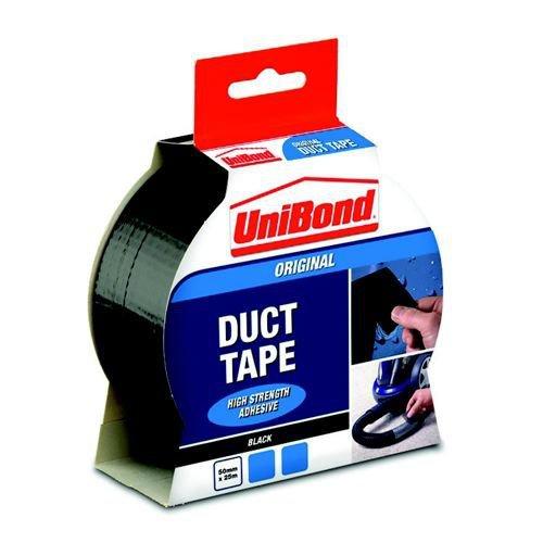 UniBond Duct Tape 50mmx25m Black