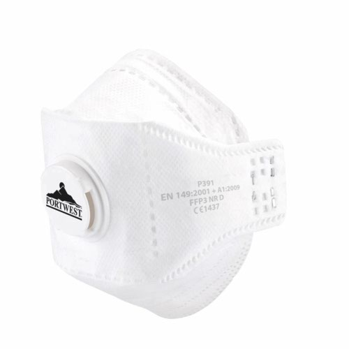 Eagle FFP3 Dolomite Respirator White Pack 30