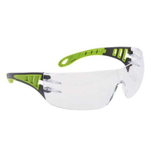 Tech Look Plus Clear Safety Glasses One Size