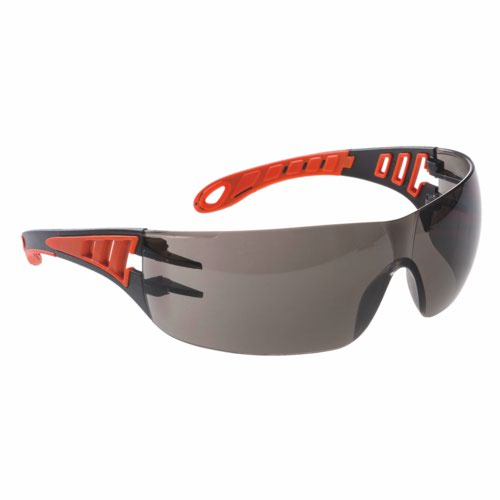 Tech Look Plus Safety Glasses Smoke One Size