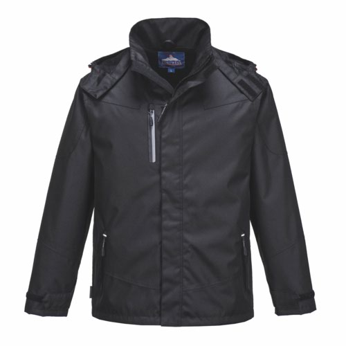Outcoach Jacket S  3XL Black Pack 60