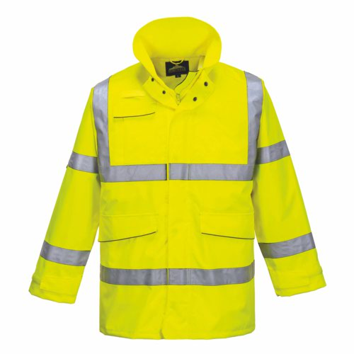 HiVis Extreme Parka Jacket Yellow S 3XL Pack 12