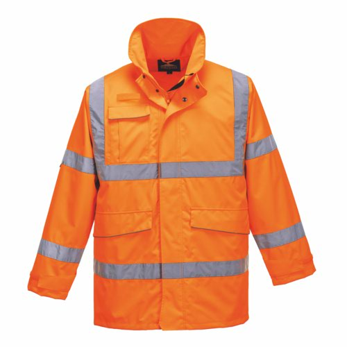 HiVis Extreme Parka Jacket Orange S 3XL Pack 12