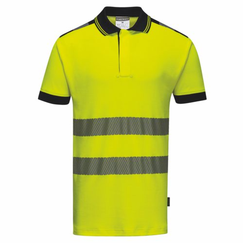 Vision HiVis Polo Shirt S-3XL Orange Pack 48
