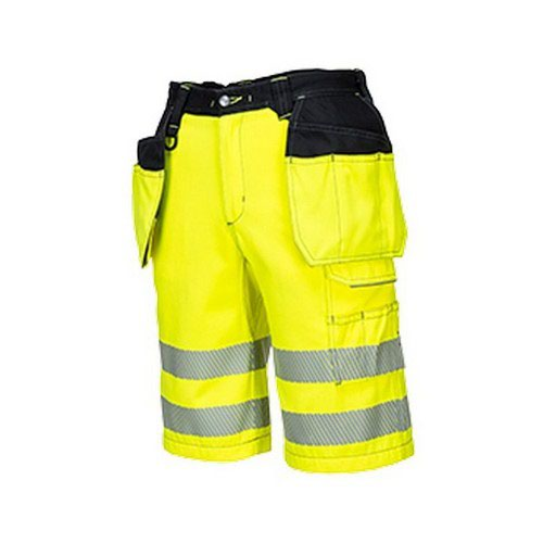 PW3 Hi-Vis Holster Shorts Yellow/Black 34R
