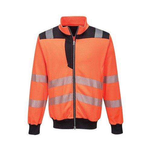 PW3 Hi-Vis Sweatshirt Orange/Black LR