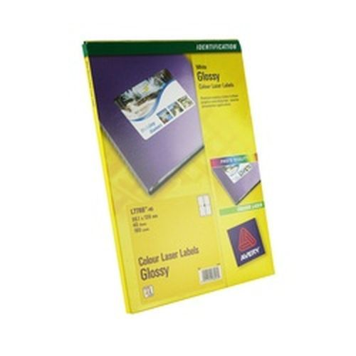 Avery Addressing Labels Colour Laser 4 per Sheet 139x99.1mm 160 Labels