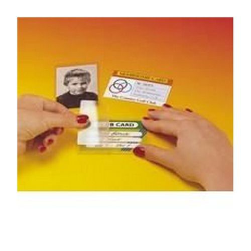 Image for Pelltech Self Laminating Card Credit Card Size Pack 100
