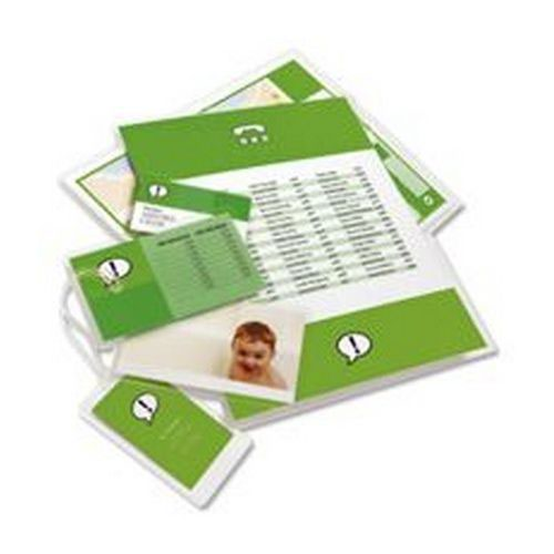 GBC Document Laminating Pouches A4 150 Micron Gloss (Pack of 100) 3740400
