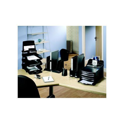 Rexel Agenda2 Letter Tray Charcoal