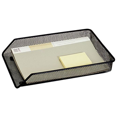 Mesh A4 Letter Tray Black