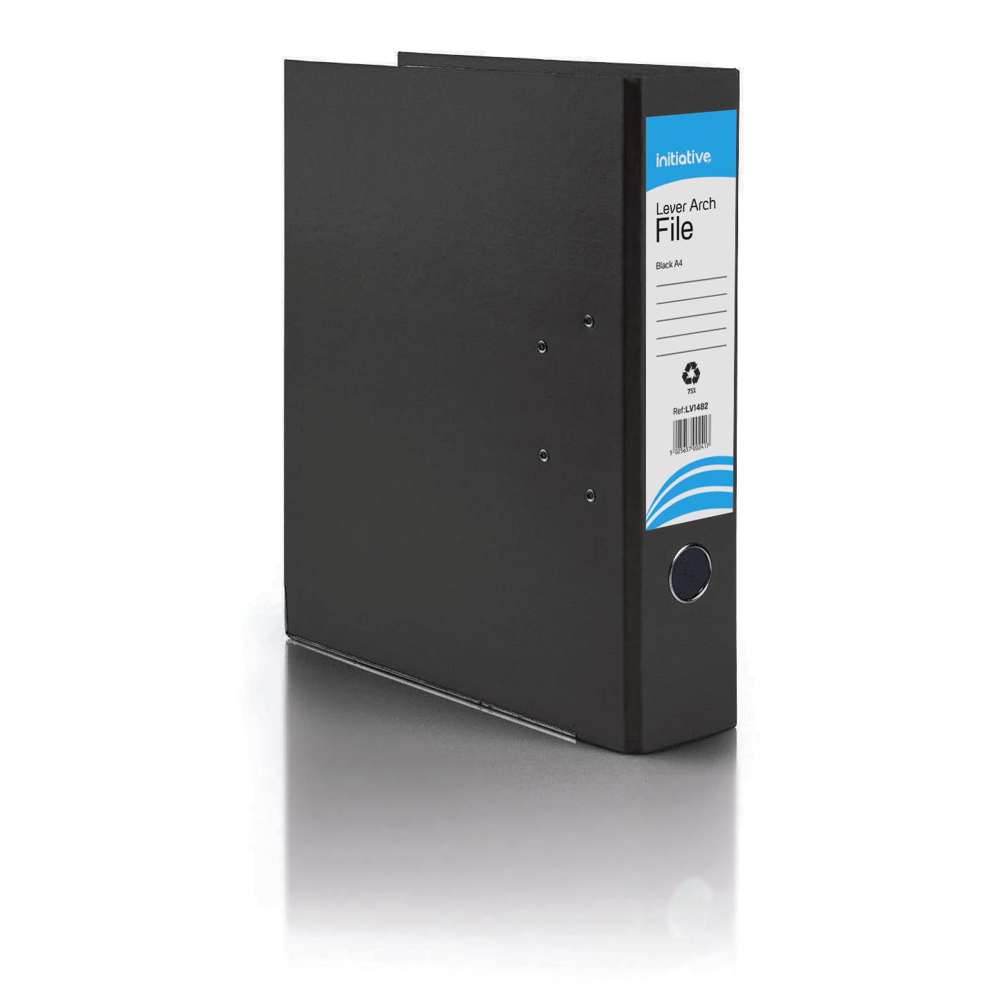 Initiative Lever Arch File A4 Black