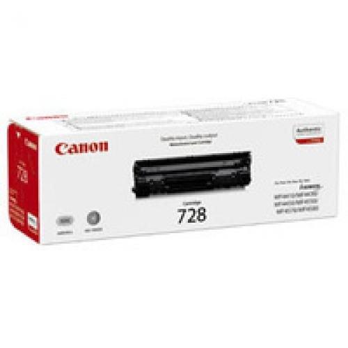 Canon 728 Black Toner Cartridge 3500B002