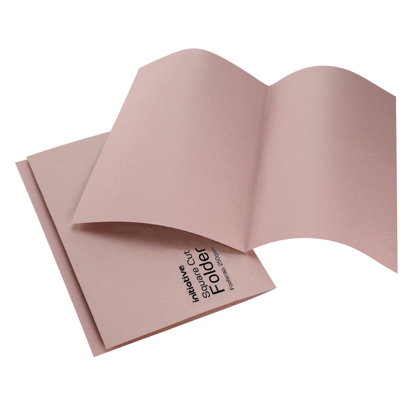 Initiative Sq Cut Folders 250Gsm Fc Buff